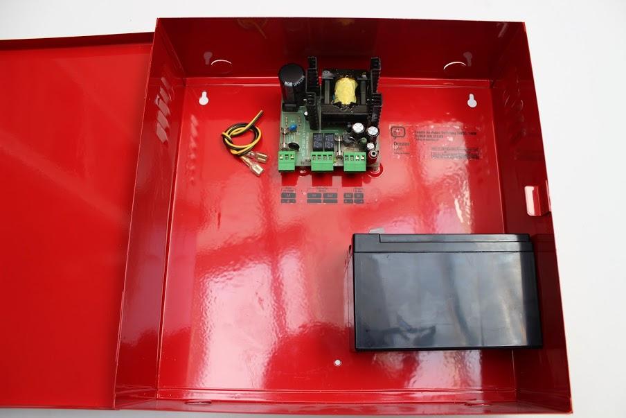 Fuente 100W / 24VDC con Contactos Secos para Kit de Incendio