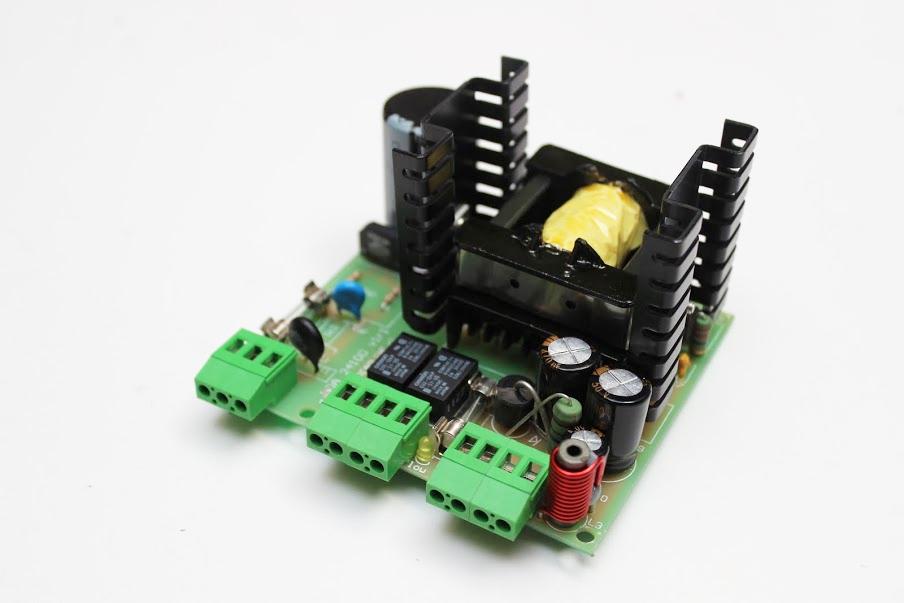 Fuente Switching AC/DC 100W Salida 24VDC con Respaldo y Contactos Secos