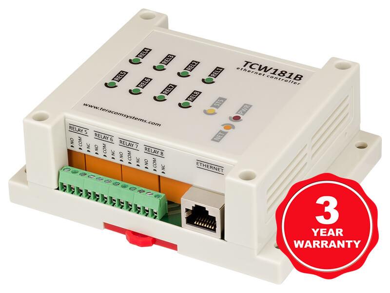 Módulo de E / S digital Ethernet TCW181B-CM
