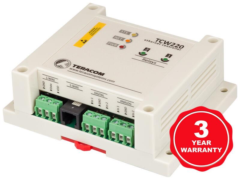 Registrador de datos Ethernet TCW220