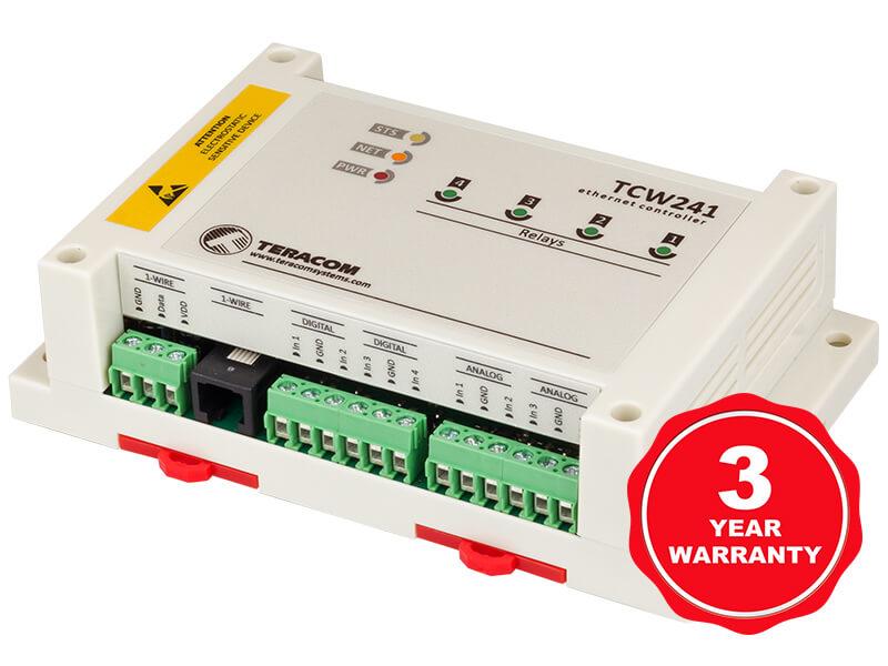 Módulo Ethernet IO TCW241