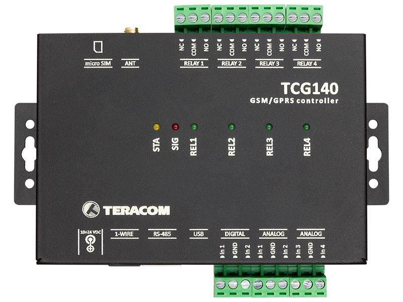 Módulo de E / S remoto GSM-GPRS TCG140