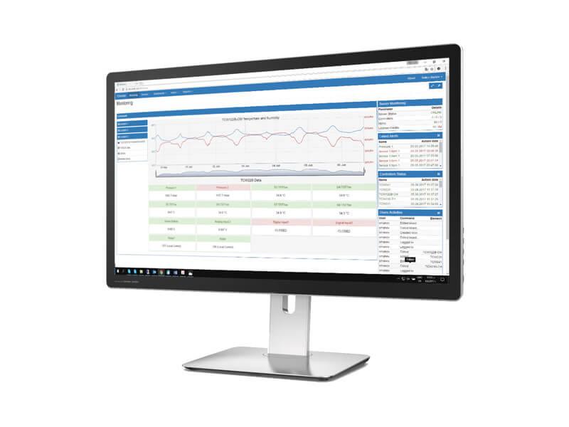 Software de monitoreo remoto TC Monitor