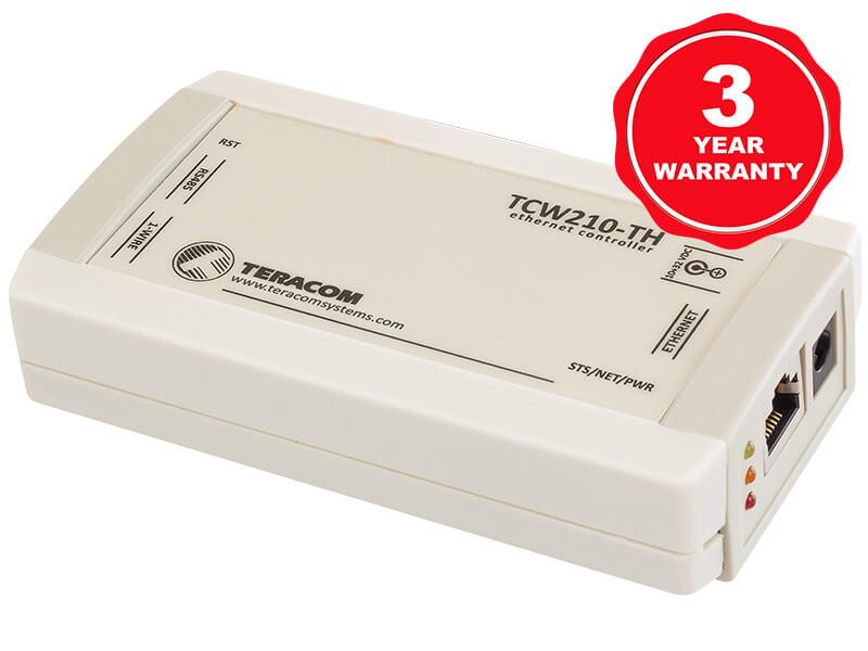 Registrador de datos de temperatura y humedad TCW210-TH